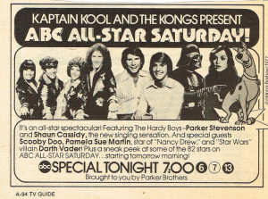 ABC All-Star Saturday advertisement