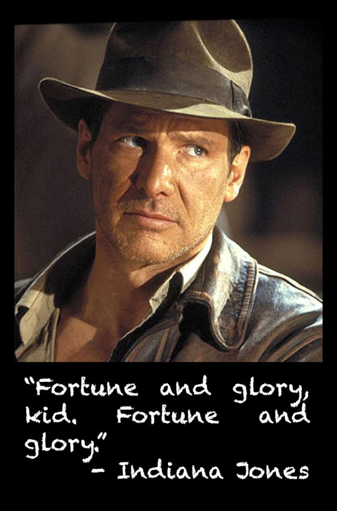 Fortune and Glory, Indiana Jones