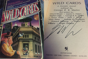 Wild Cards I, autographed by George R.R. Martin
