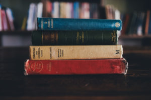 Books by Annie Spratt via Unsplash